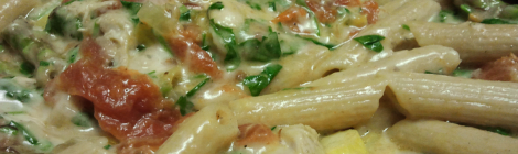 Recipe: Spicy Mozza Chicken Penne